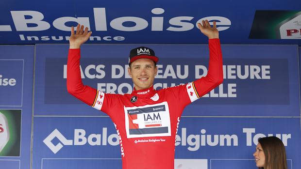 IAM Cycling Belgium Tour Stage 4 Brandle Matthias Podium