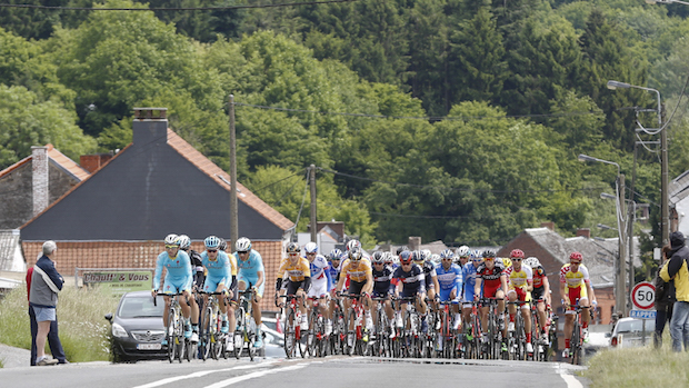 IAM Cycling Belgium Tour Stage 4 ambiance